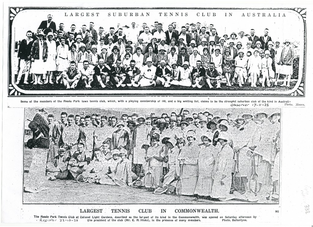 1928 photograph from the Adelaide Observer (which operated  1843 - 1931)